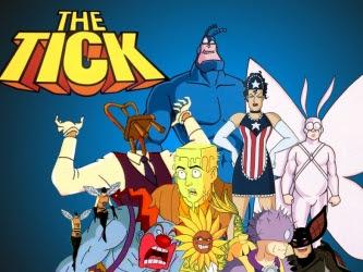 Kleszcz The Tick1994 1996 Filmy I Seriale Animowane Forum