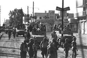 Le truppe israeliane a Gaza, 6 giugno 1967.