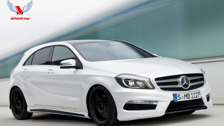 Mercedes Benz A45 AMG Rendering - autoevolution