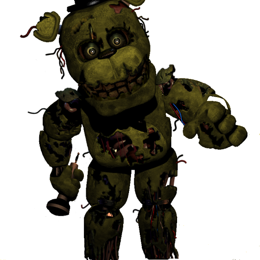 Image: The fourth installment of the Springtrap styled animatronics ...