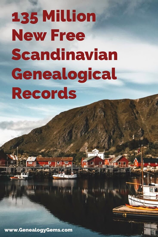 Scandinavian Genealogy Records and More | Genealogy Gems