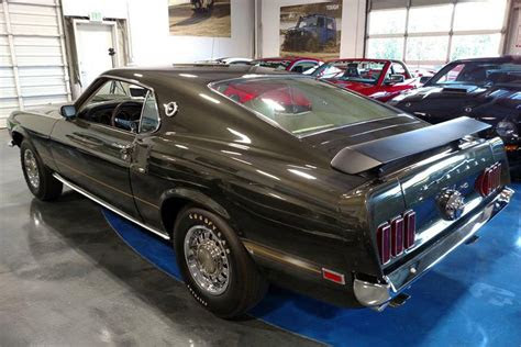 ford mustang mach   scj fastback