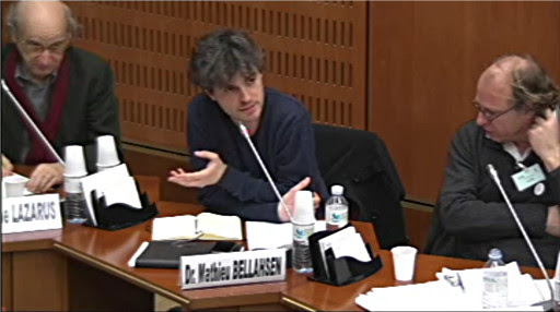 *Video:intervention de mathieu belhasen