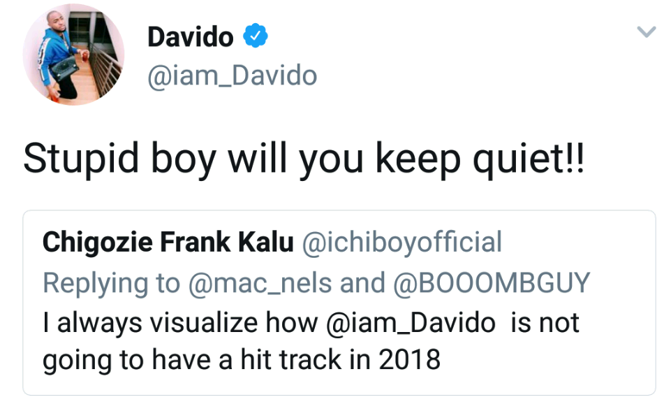 images for davido twitter, trolling