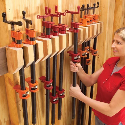 Storage: How to Store Clamps | The Family Handyman