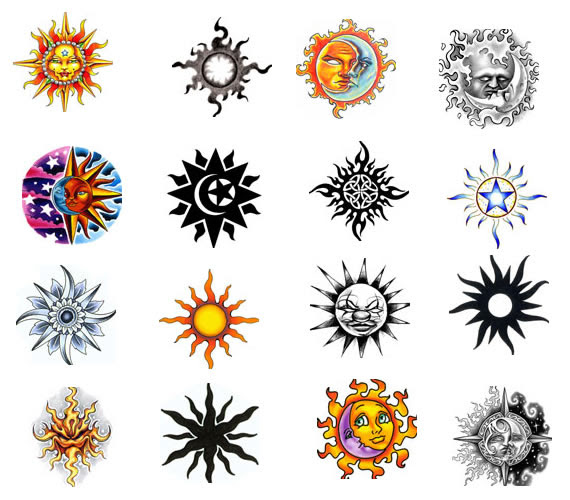 Ink Tattoos Moon Tattoo Designs