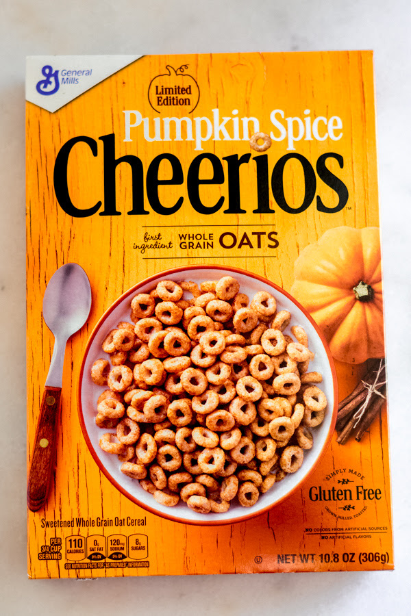 Grant as well as I embarked on a mission to hunt downward to a greater extent than or less of the pumpkin spice foods that hit total  ranking to a greater extent than or less of the pumpkin spice foods