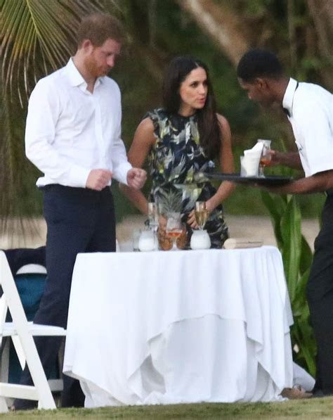Prince Harry and Meghan Markle very much together at