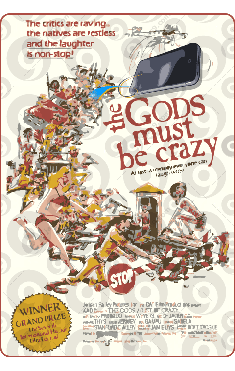 iPhone 4G - The Gods Must Be Crazy