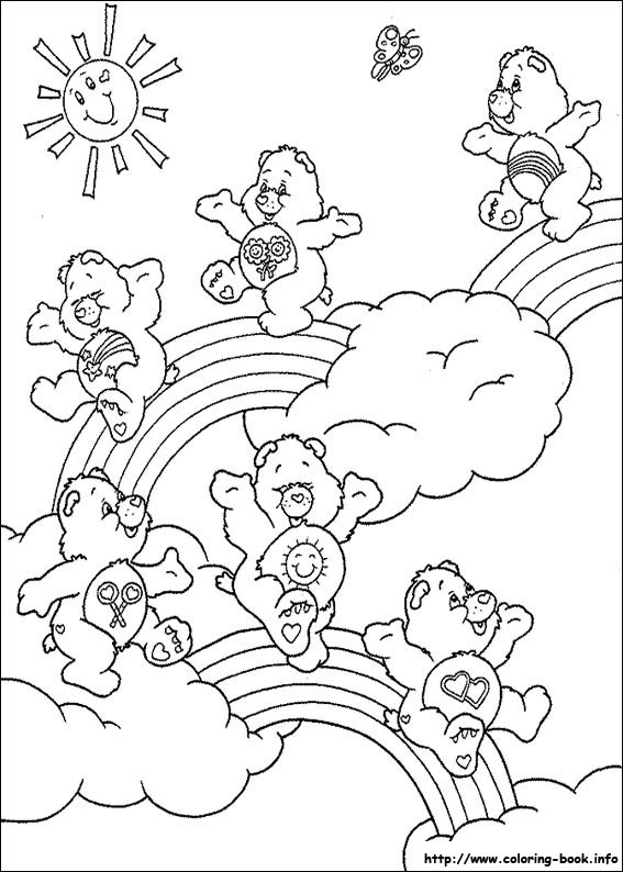 550 Top Coloring Pages Care Bear , Free HD Download
