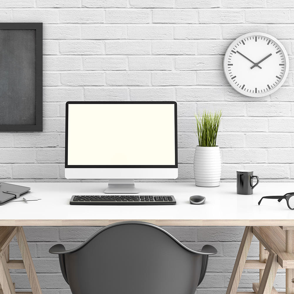 Image result for clean desk minimalist