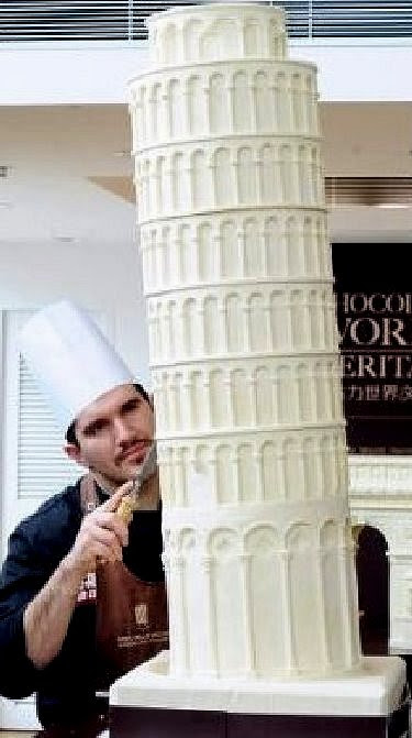 Lean-tower-cake