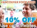 win a free vancouver food tour, taste bc's Best Restaurants.