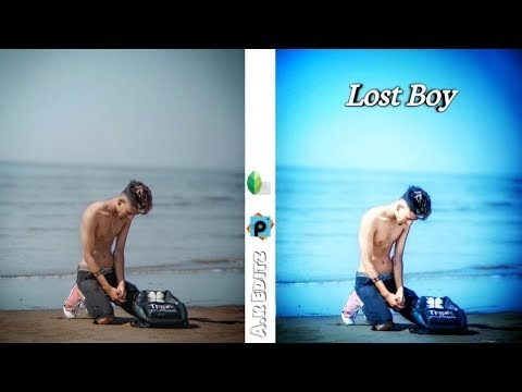 picsart Lost boy photo editing HD