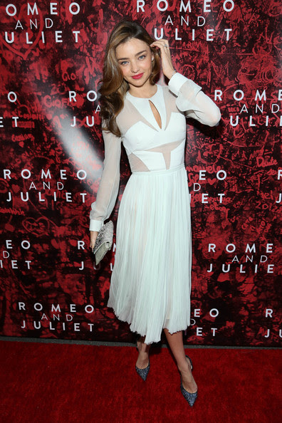 Miranda Kerr attends 'Shakespeare's Romeo And Juliet' Broadway opening night at The Richard Rogers Theater on September 19, 2013 in New York City.