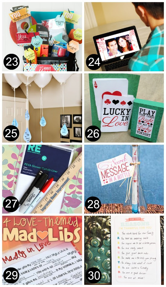23. The All About YOU Basket - it doesn't have to be elaborate, just ...