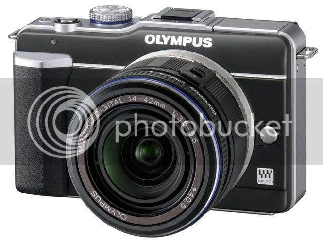 Olympus E-PL1 Camera Black