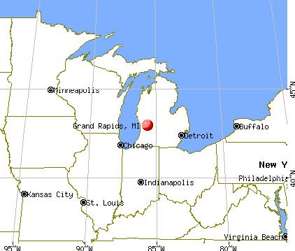 Grand Rapids Michigan Mi Profile Population Maps Real Estate