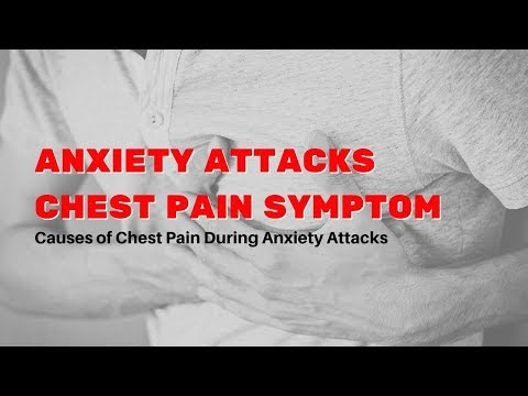 Anxiety Attacks Chest Pain Symptom