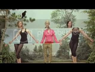 still from the The Concretes new music video for 'On The Radio'