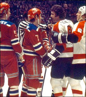 Flyers vs Red Army, Flyers vs Red Army