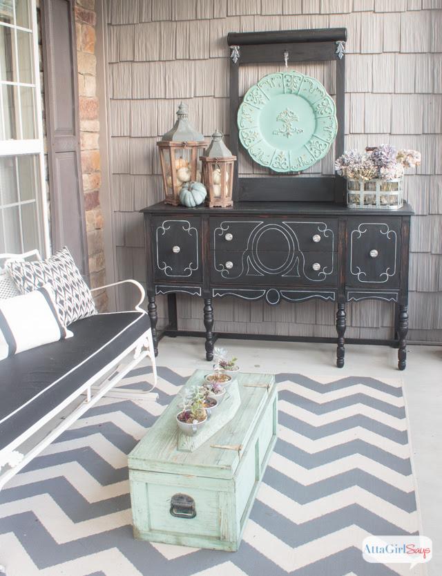 Fall Porch Ideas by Atta Girl Says
