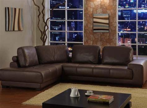 ideas  living room  brown sofas