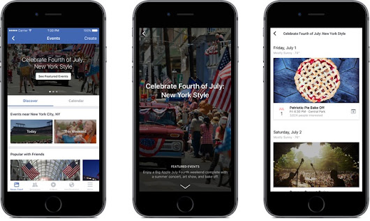 Facebook Featured Events List Shifts to Human Curation