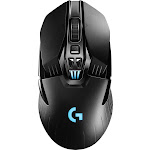 Logitech - G903 Wireless Optical Gaming Mouse with RGB Lighting - Black