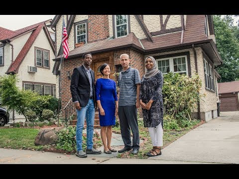 We rented President Trump's childhood home to welcome refugees. Here's what happened. | Oxfam America