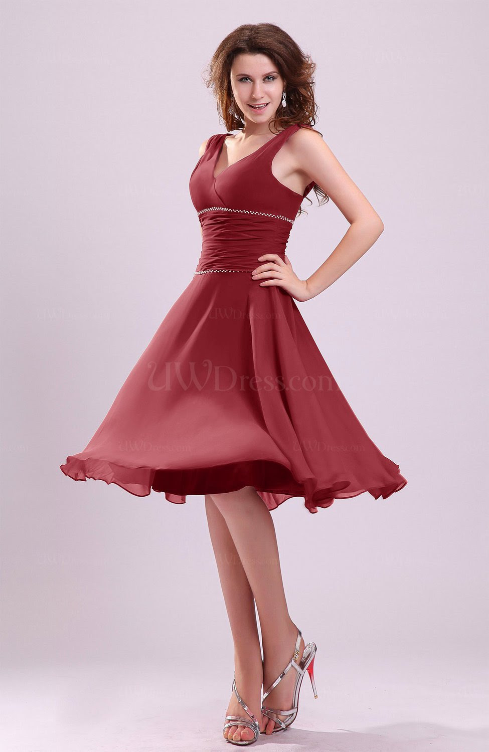 New Cheap Wedding Dresses: Red and black bridesmaid dresses under 100