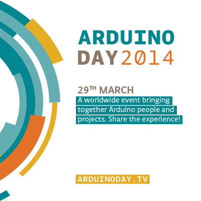 Arduino Blog  » Blog Archive   » 29th of March Arduino Day: we are ready to celebrate with more than 240 events #ArduinoD14