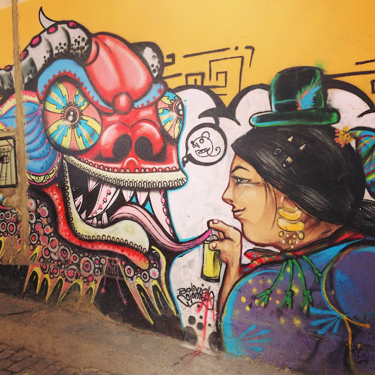 11 examples of great street art in La Paz, Bolivia