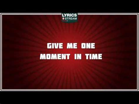 moment  time whitney houston tribute lyrics
