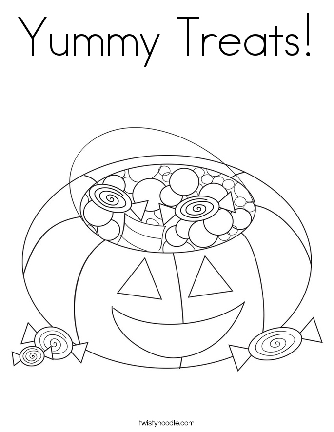 Yummy - Free Coloring Pages