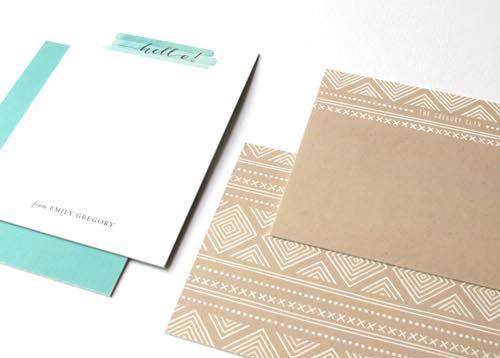 Minted Stationery Two