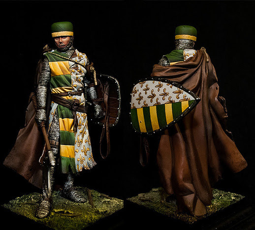 Italian knight  | Military Miniatures H.Q.