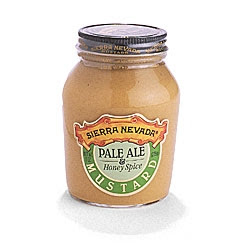 Sierra Nevada's Pale Ale mustard, courtesy of Sierra Nevada web site