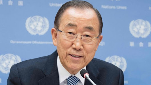 UN chief Ban Ki-moon hints he could run for South Korea's presidency - BBC News