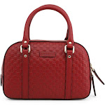 Gucci Red Leather Handbag, Small