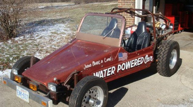 مَركبات تعمل بالطاقة المائية