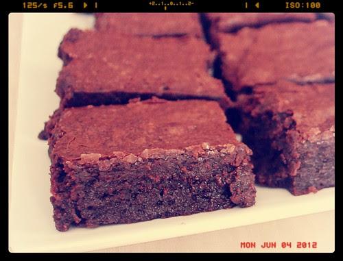 7337469914 826825e2d1 Amaretto Coffee Brownies