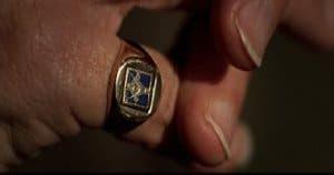 Masonic ring of FBI inspector