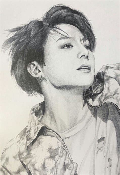 drawings bts fan art bts jungkook