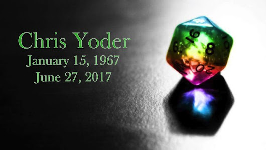 Obituary: Chris Yoder