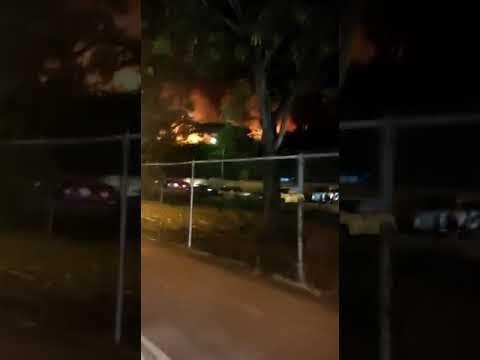 Un Incendio afecta Hotel Iberostar Costa Dorada
