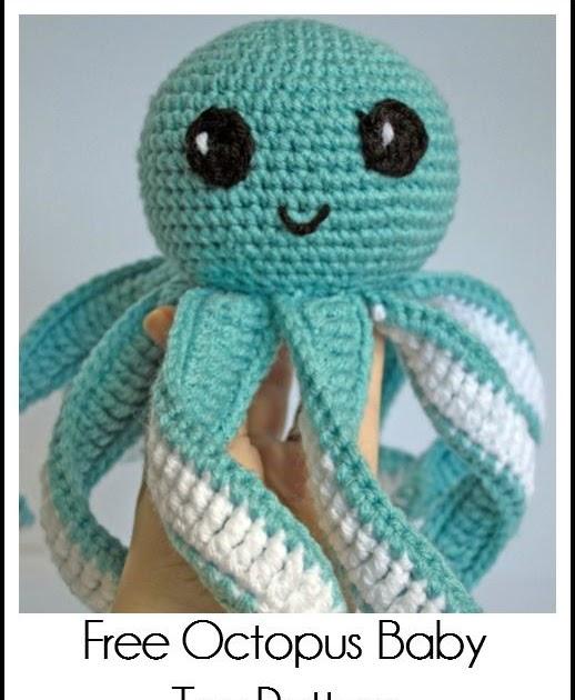 Melissa Crochet Designs: Amigurumi Octopus Baby Toy Free ...