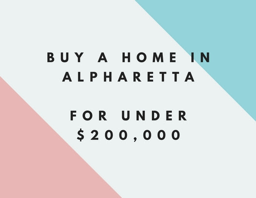 Can You Buy A Home In Alpharetta For Under $200,000 ? - Alpharetta Homes-Neighborhood Pictures