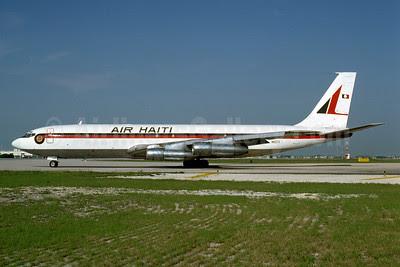 Air Haiti Boeing 707-331C N15711 (msn 19567) MIA (Bruce Drum). Image: 102888.