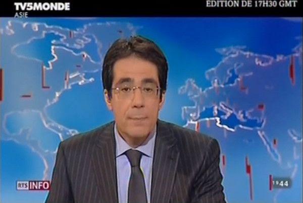 La Chine censure Darius Rochebin, TV suisse